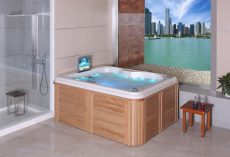 Bañera de hidromasaje/Jacuzzi